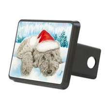 Christmas Labradoodle Hitch Cover