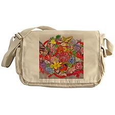 flower design Messenger Bag