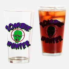 Zombie Hunter #1 Drinking Glass