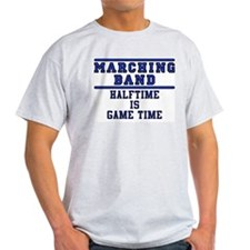 Halftime Is Game Time Ash Grey T-Shirt