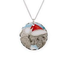 Christmas Labradoodle Necklace