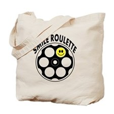 Loaded Smile Roulette Bullets Tote Bag