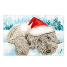 Christmas Labradoodle Postcards (Package of 8)