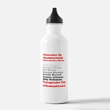 I Remember My Transgen Water Bottle