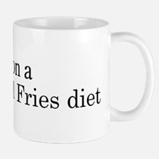 Burger And Fries diet Mug