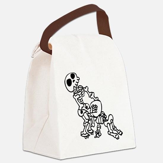 Blowjob bones Canvas Lunch Bag
