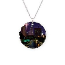 Fireworks in Indianapolis Necklace