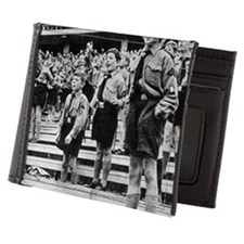 Rally of Nazi youth in Germany Mens Wallet