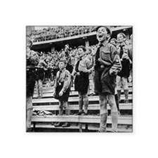"Rally of Nazi youth in Germ Square Sticker 3"" x 3"""
