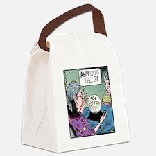 404 error Canvas Lunch Bag