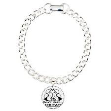Dont Hate... Meditate Bracelet
