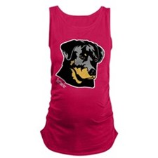 rottweiler head breed name.png Maternity Tank Top
