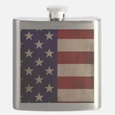 Stars and Stripes Artistic Flask