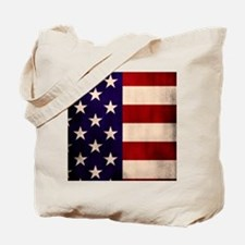 Stars and Stripes Artistic Tote Bag