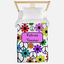 retired teacher iphone case pink Twin Duvet