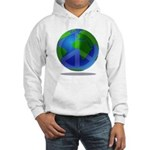 Peace Planet Hooded Sweatshirt