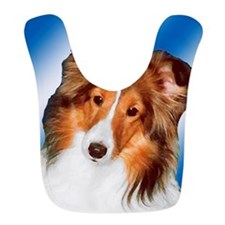 Sheltie Gifts Bib