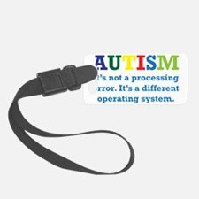 Autism awarness Luggage Tag