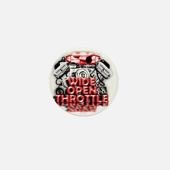 Wide Open Throttle - Supporter Shirt Mini Button