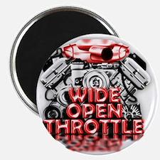 Wide Open Throttle - Supporter Shirt Magnet