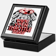 Wide Open Throttle - Supporter Shirt Keepsake Box