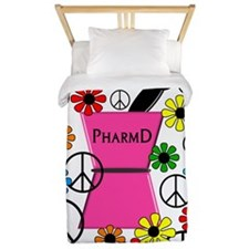 PharmD iPhone pink Twin Duvet