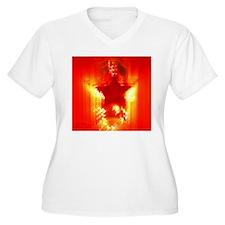 Red Christmas sta T-Shirt