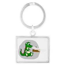 No Smoking! Landscape Keychain