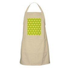 Yellow Retro Dots Apron