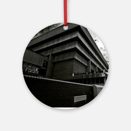 brutalism Round Ornament