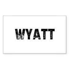 Wyatt Rectangle Decal