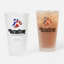 #BostonStrong Drinking Glass