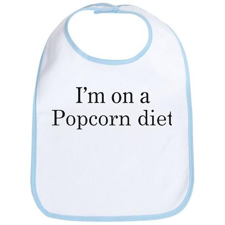 Popcorn diet Bib