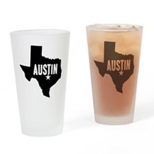 Austin, TX Drinking Glass