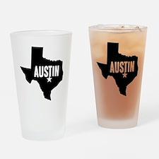 Austin, TX Drinking Glass