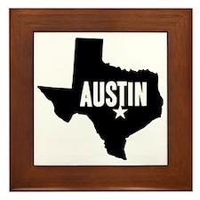 Austin, TX Framed Tile