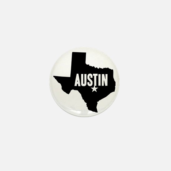 Austin, TX Mini Button