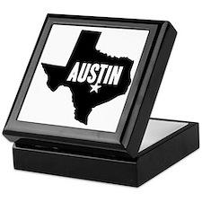 Austin, TX Keepsake Box