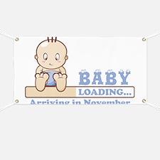 Arriving in November Banner