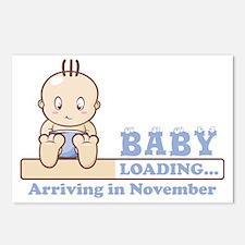 Arriving in November Postcards (Package of 8)