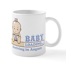 Arriving in August Mug