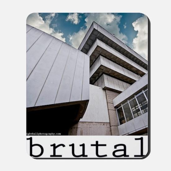 brutalism Mousepad