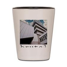 brutalism Shot Glass