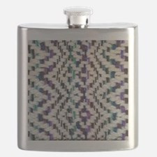 Square Saori Woven Flask
