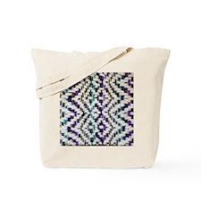 Square Saori Woven Tote Bag