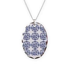 blue delft Necklace