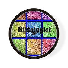Histologist flip flops 6 Wall Clock