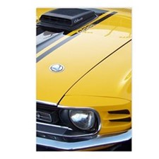 Yellow Ford Mustang Cobra Postcards (Package of 8)