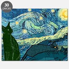 Van Goghs Cats Puzzle