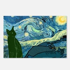 Van Goghs Cats Postcards (Package of 8)